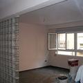 alisado, pintura y pavé en salon de vivienda.