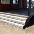 Ampliación de escaleras de hormigón