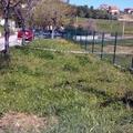 ANTES Obras excavación, drenaje y reformas en recinto exterior