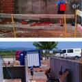 Aplicación en muros perimetrales de vivienda unifamiliar.