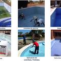 Aplicación en piscinas.