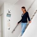 Aprovecha tus especios ¡decora tu escalera!