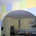 arco entre office y cocina