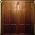 armario en madera