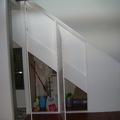 Armario oculto en tiro de escalera