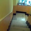 bajada de escaleras