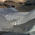 Balsa para riego en Gran Canaria