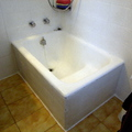 2. bañera antes de la instalación