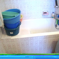 4. bañera antes de la instalación