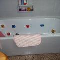 6. bañera antes de la instalación