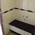 Baño azulejo crema
