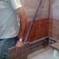 Baño en construcción