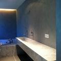 Baño en micro cemento
