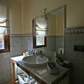 baño rustico