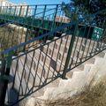 Barandilla para puente peatonal.