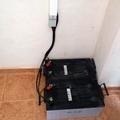 Baterías instalación fotovoltaica aislada.