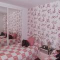 Habitación con papel