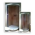 cabina ducha con plato rasante