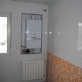 Caldera de calefaccion encastrada en pared