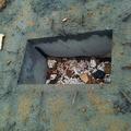 Caliz cimentacion nave hormigón