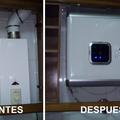 Cambio de calentador de butano por termo electrico