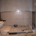 Cambio de  la bañera por el plato de ducha.