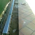 Canaleta de uso privado con drenaje de canto lavado