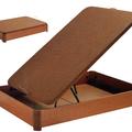 Canapé tapizado de madera