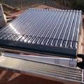Captador solar tubular