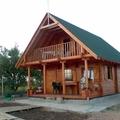 casa de madera modelo Cervino acabado