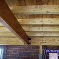 casa ecologica,vigas de madera