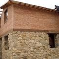casa en piedra y ladrillo rustico