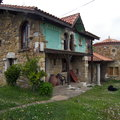 Casas de piedra en Coya