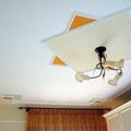 Centro techo en moldura y pintura
