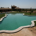 PISCINA IRREGULAR EN CHICLANA