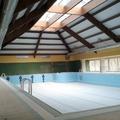 Climatizacion de piscina con caldera de biomasa