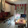 Pintura decorativa en cocina.