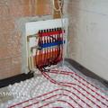 Colector de calefacción por suelo radiante