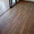 Colocación de parquet en piso