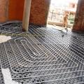 Colocación de suelo radiante sistema Uponor