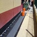 colocacion de tela asfaltica.