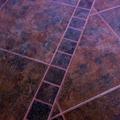 Colocación del pavimento gres