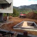 Construccion de piscina en vivienda unifamiliar