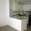 Construcción de una barra de cocina.