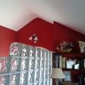 contraste de rojo con blanco