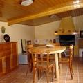 Costrucción de falso techo de madera y Chimenea