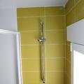 cuarto de baño color pistacho