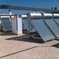 cubierta con energia solar termica