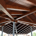 cubierta de madera en Teruel