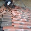 cubierta nueva con pontones,tableros,ondulin y teja